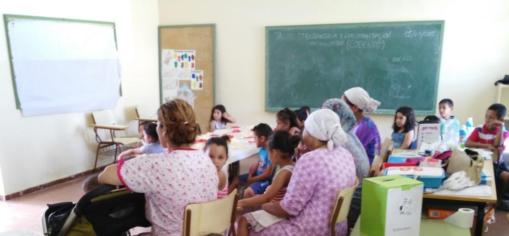 Atención a infancia y familias en Las Norias de Daza